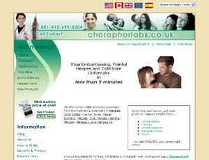 Remedies for Herpes by choraphorlabs.co.uk