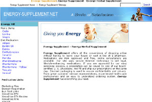 Men's Health Medication by energy-supplement.net